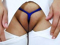 Big Puffy Cameltoe Teen and Round Big Ass