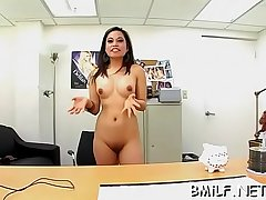 Handsome mom enjoys getting fingers and dick in cunt