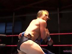 Straight Clark Wrestler with Sexy Bubble-Butt