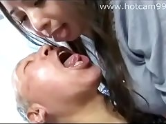 Horny Girl and Horny Grandpa