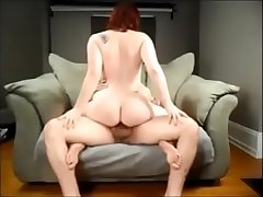 Curvy redhead on unquestionable homemade