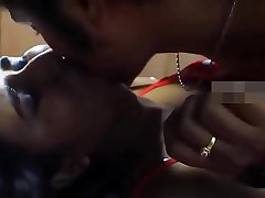 indian house wife kissing