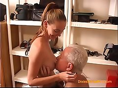 Teen Secretary Fucked by BOSS