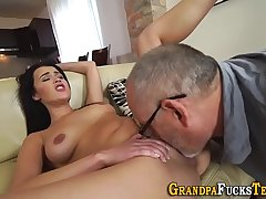 Teen railed by old perv