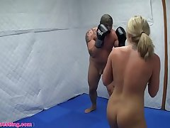 Nude Dre Hazel Defeats in Competitive Boxing