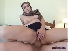 Arab Harlot Lucia Has Her Pussy Stretched
