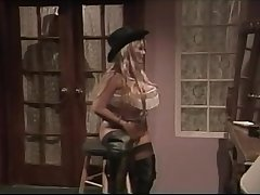 SUPER RARE Kasha Decoration 1 - Bashful Blonde from Beautiful Bendover, only scene with her bigger bosom