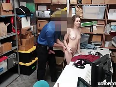 Kimmy Grangers tight hairy pussy spring chicken fuck!
