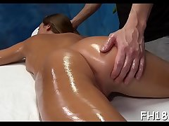 Down in the mouth 18 year old girl gets drilled hard by her massage therapist!