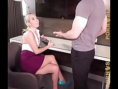 PornSlap Aaliyah Love Caught By Boss