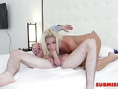Smalltits With Pierced Nipples Teen Taking Pussy Beating