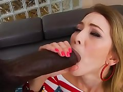 Painful monster black cock ass fuck