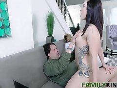 Stepdaughter Does It For The Cam - Raven Reign, Eric John