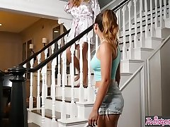 Mom Knows Best - (Melissa Moore, Olivia Austin) - Mother daughter bathtime - Twistys